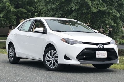 The 2019 Toyota Corolla has heated front seats and SofTex trim.