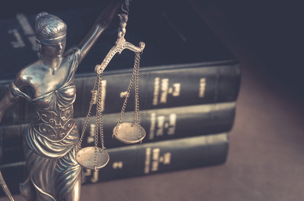Course topics include Introduction to Law, Torts and Personal Injury, Legal Research and Writing, Civil Litigation, Contract Law and Family Law.