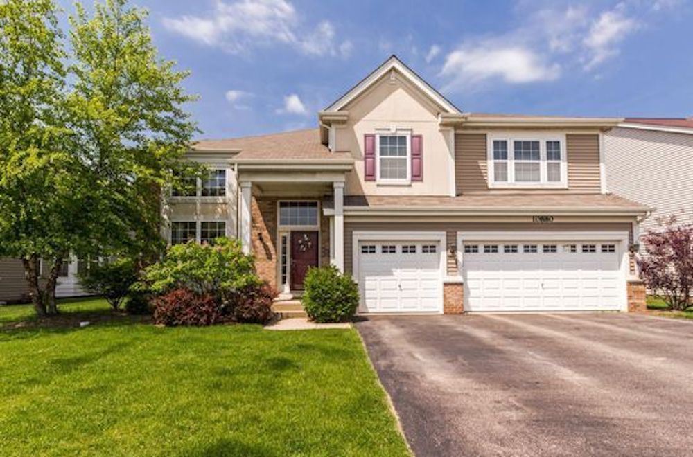 The home for sale at 10880 Cortland Lane in Huntley had a property tax bill of $9,302 in 2017.