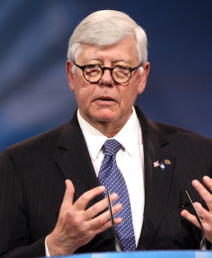 Former National Rifle Association president David Keene