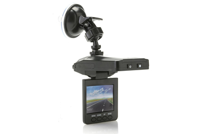 The DashCam Pro comes with night vision capabilities for even more security.