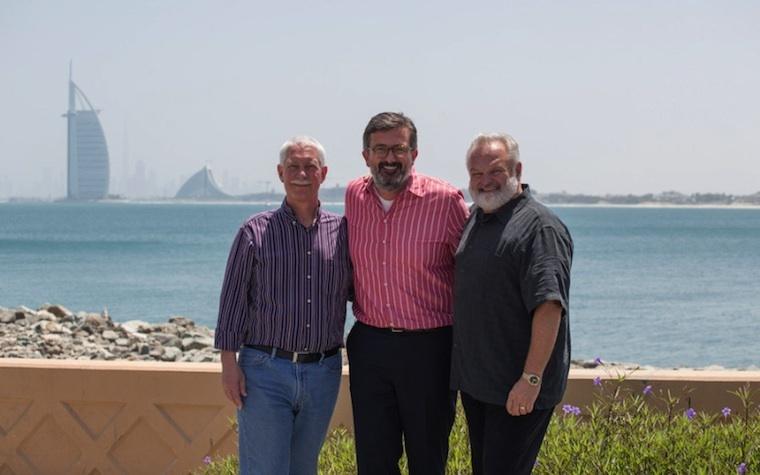 (L-R) Bob Anderson, Nicolai Tillisch, and Bill Adams