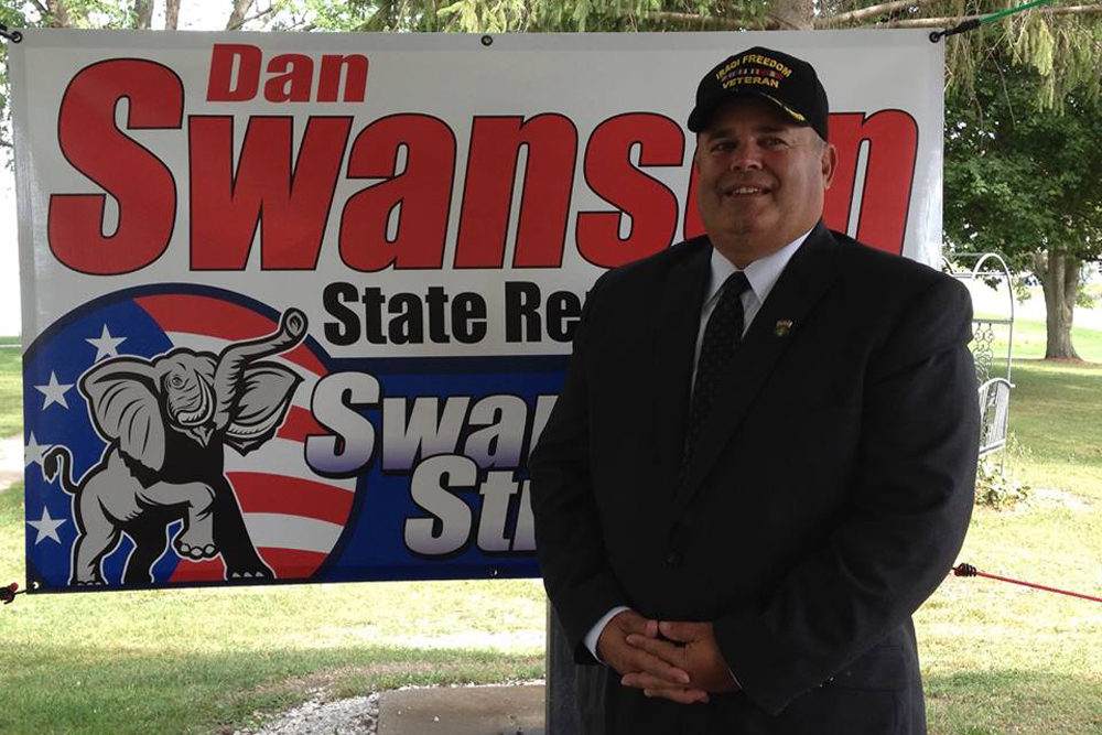 Daniel Swanson is the superintendent of the Henry County Veterans Assistance Commission.
