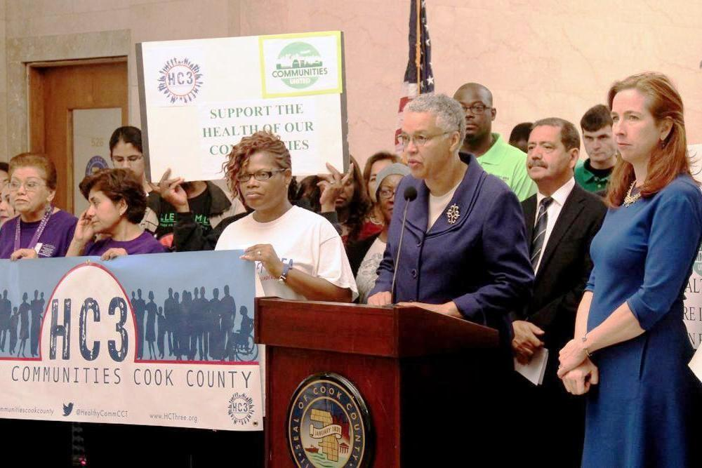 Cook County takes steps toward collective health care
