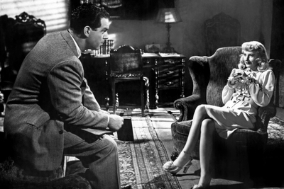 Fred MacMurray and Barbara Stanwyck in