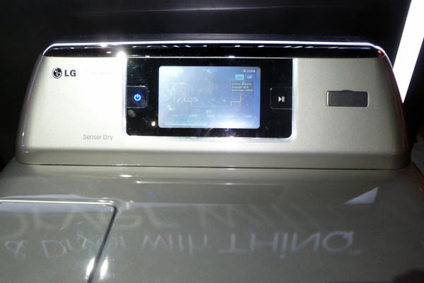 Washers and dryers are starting to have LCD screens and a host of tech-driven improvements.
