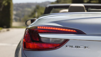 Sleek and sporty, this Buick begs you to hit the road again and again.