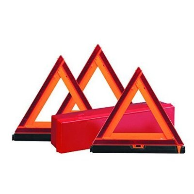 Deflecto Early Warning Road Safety Triangle Kit