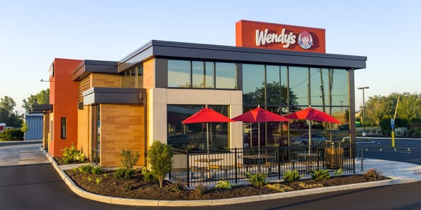 Large wendys exterior