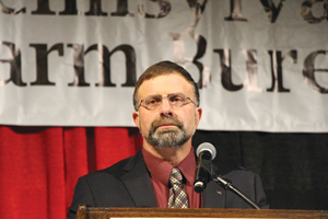 Westmoreland County farmer Rick Ebert was elected president of the Pennsylvania Farm Bureau this week