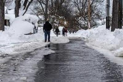 Medium snowflood