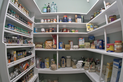 A good pantry space will keep ingredients easy to find and avoid kitchen clutter.