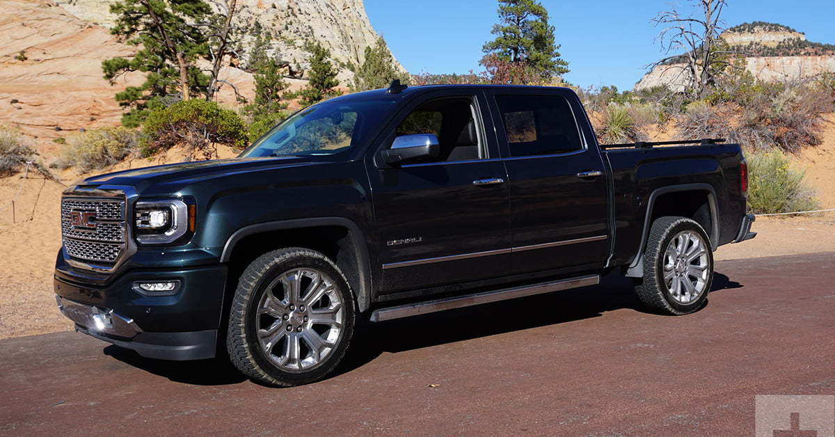 The GMC Sierra Denali HD retains 57.4 percent of its value after 60 months.