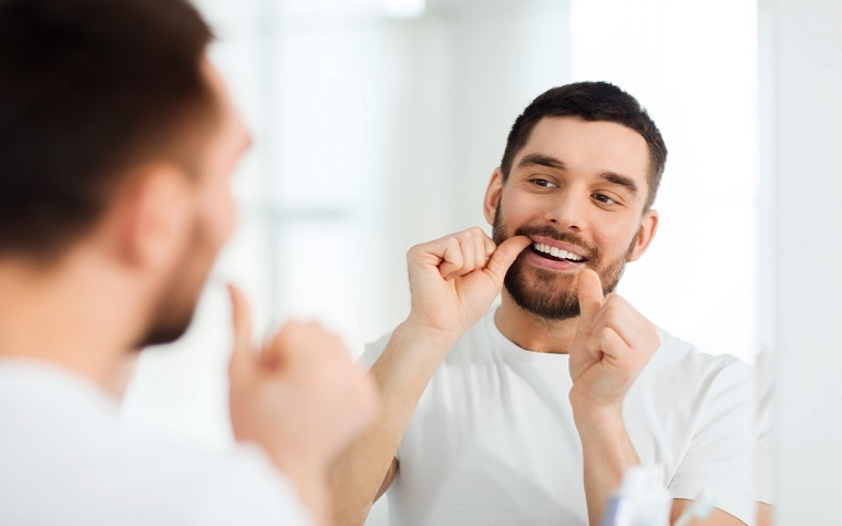 The ADA and the federal government are stressing how important flossing is to oral health.