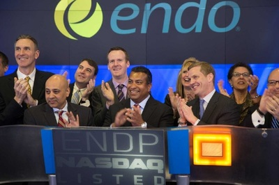 Endo has received $100 million at closing and may be able to receive $11 million more in assets from Litha.