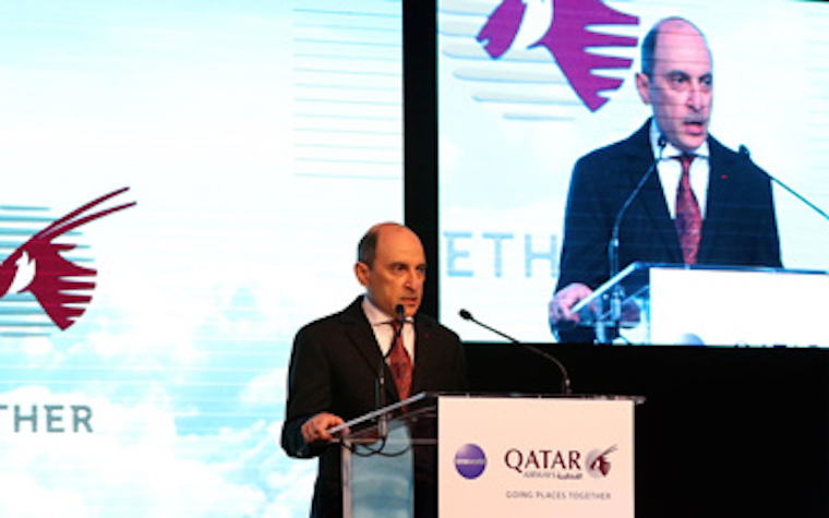 Qatar Airways CEO holds press briefing to announce new flights to Morocco
