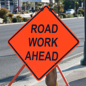 Medium roadwork