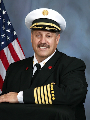 Gary Ludwig, Chief of the Champaign Fire Department