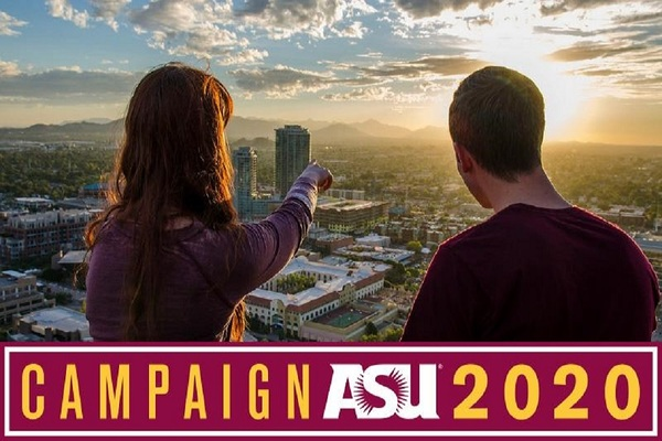 ASU encourages others to get involved with the campaign at giveto.asu.edu.