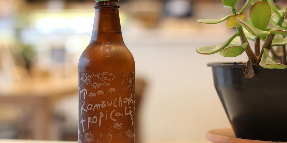 Rich in Vitamin B, kombucha is naturally energizing.