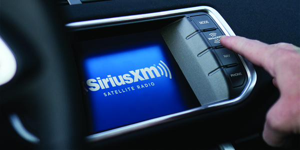 Large siriusxm in dash radio 1280x640