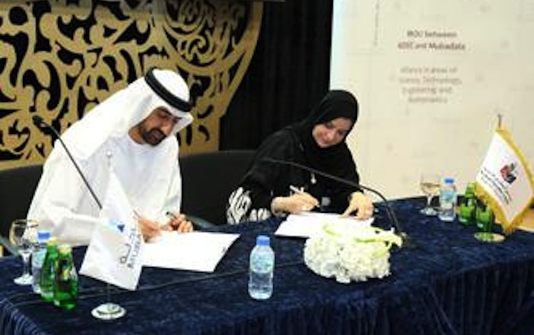 Representatives from the Abu Dhabi Education Council and Mubadala Development Company recently signed a landmark agreement.