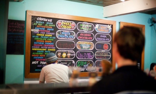 Amy's Ice Creams makes a fine stop on family itineraries in South Congress.