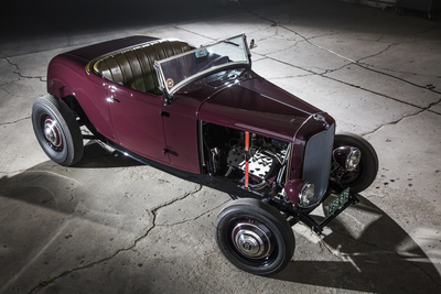 John Joyo's 1932 Ford Roadster was an eight-year restoration project.