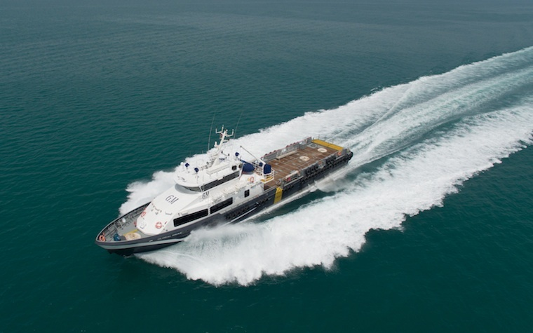 Grandweld Shipyards to build four crew boats for Global Marine in Dubai.