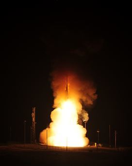 An unarmed Minuteman III intercontinental ballistic missile was tested early Monday morning at Vandenberg Air Force Base in California.