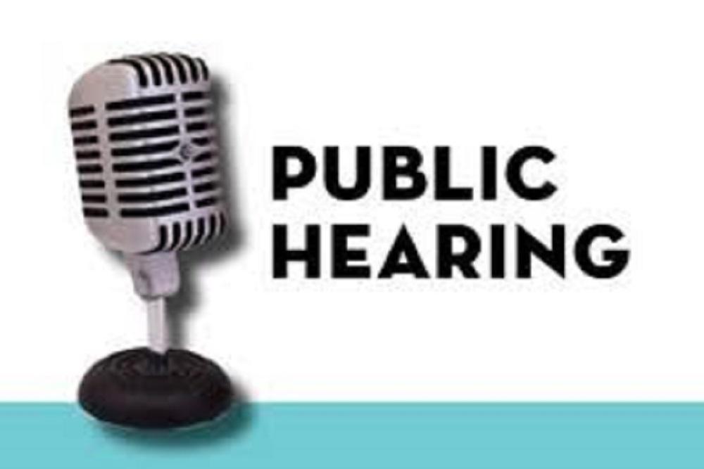 Publichearing
