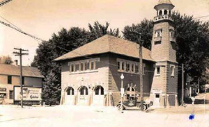 Historic photograph taken in the Village of Algonquin.