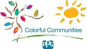PPG Industries celebrates the completion of 11 global beautification initiatives.