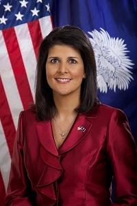 Gov. Haley selected as 2015 Public Servant of the Year.
