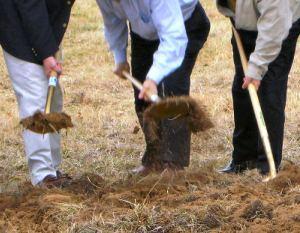 Officials break ground on Greenbrier Senior Living project.