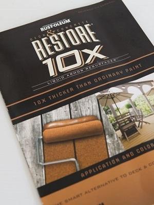 Large rustoleum restore 10 x colors
