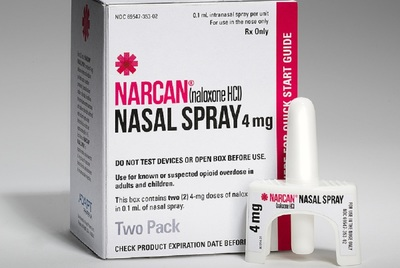 The new nasal delivery system allows Narcan to go directly into the lungs and nervous system.