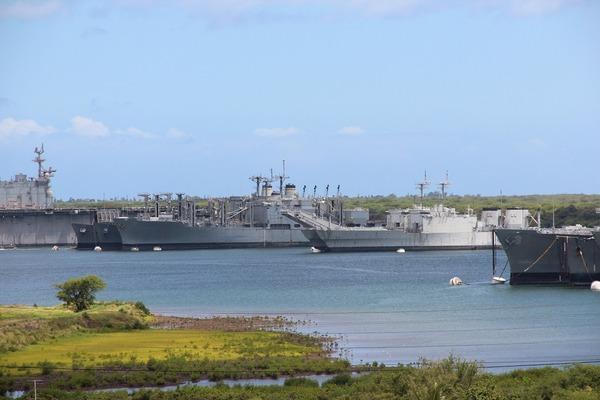 Large navyshipyard