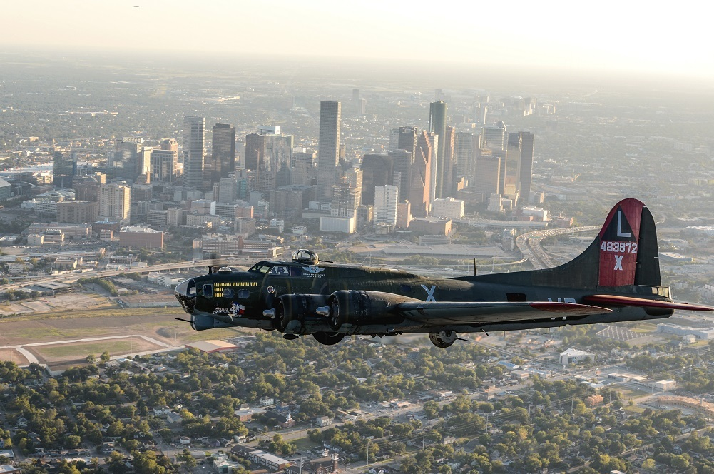 The B-17, maintained and run by CAF's Gulf Coast Wing, is one of only nine operating in the world.