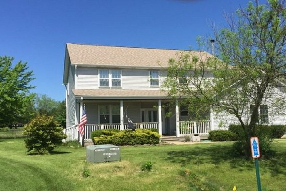 This five-bedroom home, 4610 Rose Court in Winthrop Harbor, has a property tax bill of $10,378.