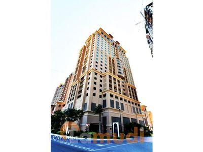 A two bedroom apartment is available in Porto Arabia tower 24