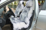 Sheepskin car seat covers may be a comfy option for winter driving.
