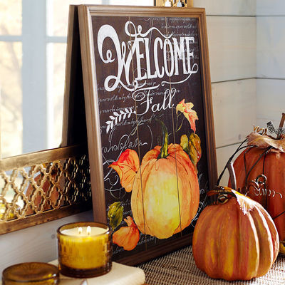 Welcome Fall Wall Décor