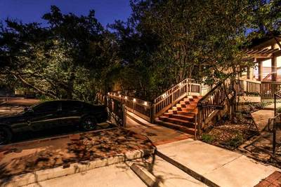 Make sure lighting is part of the planning stages before building a deck.