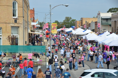 The 28th annual Hogeye Festival will be held on Oct. 22