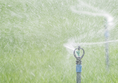 Programming your irrigation system to split run times into several shorter cycles can save a substantial amount of water.