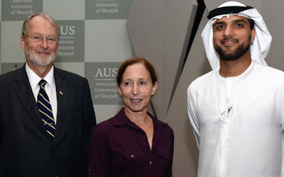 American University of Sharjah hosts special lecture by former astronaut