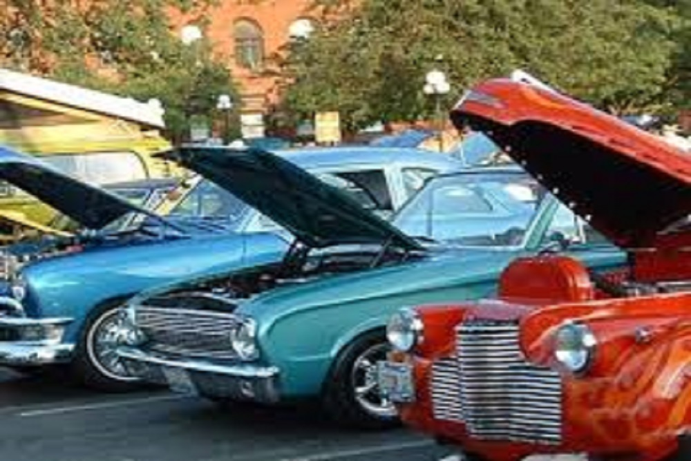 City Of Lincoln Powerlight Abe Lincoln Car Show Spectacular