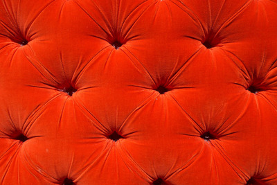 Velvet has long been a popular material for covering furniture.