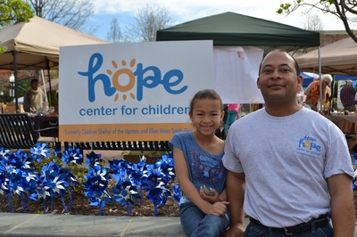 In 2016, Hope Center for Children served 1,130 families and more than 2,500 children.